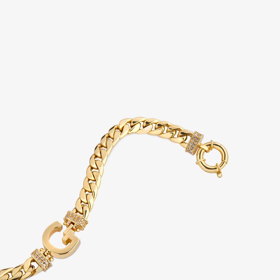 - Sarı Altın Harf Bileklik