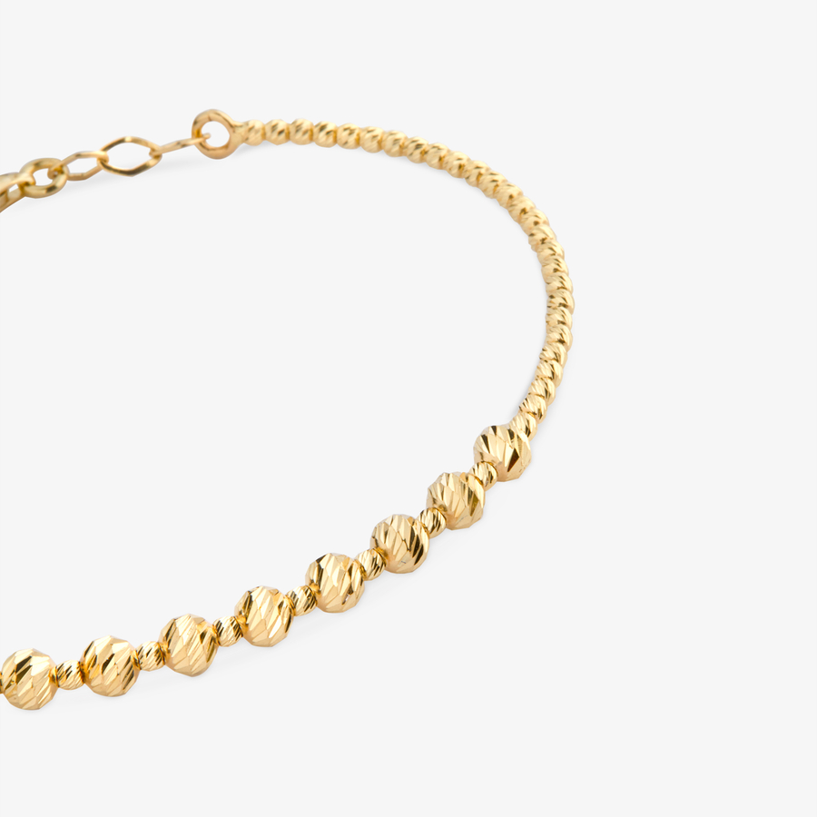 - Sarı Altın Tasarım Bileklik