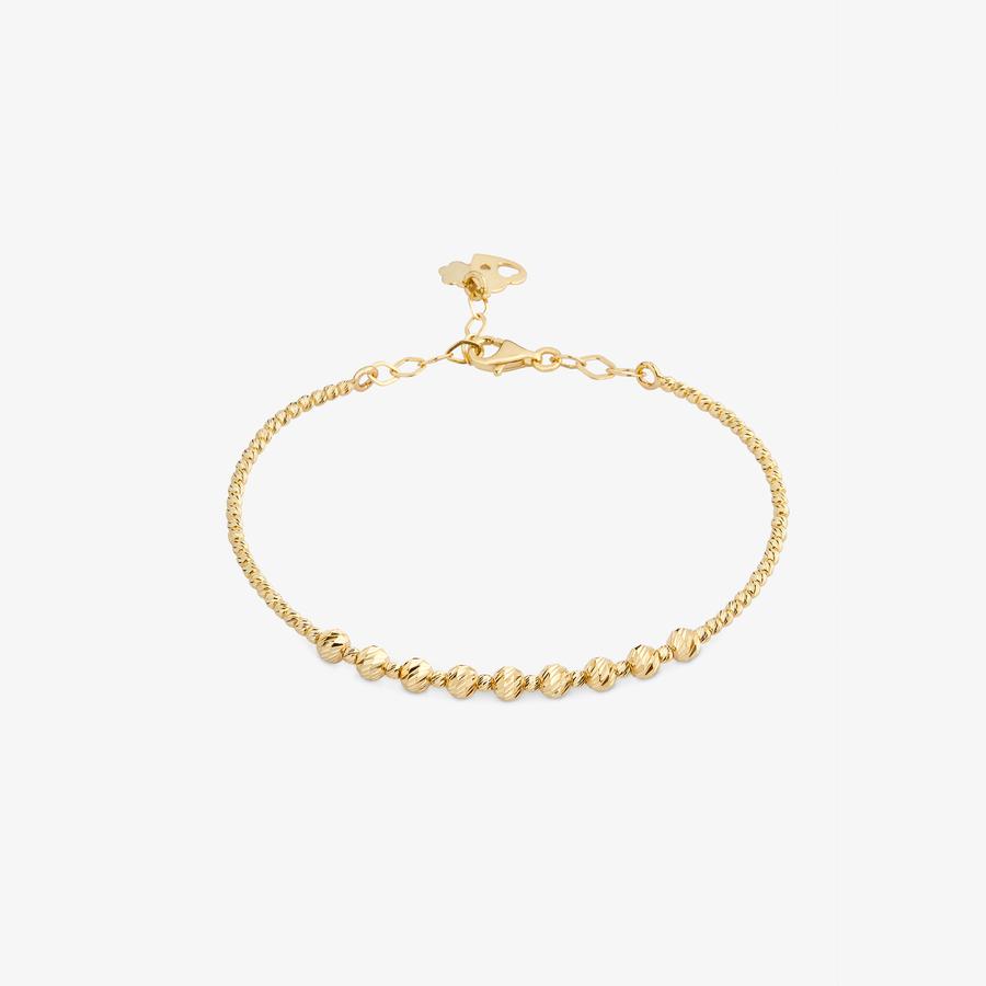 - Sarı Altın Tasarım Bileklik (1)