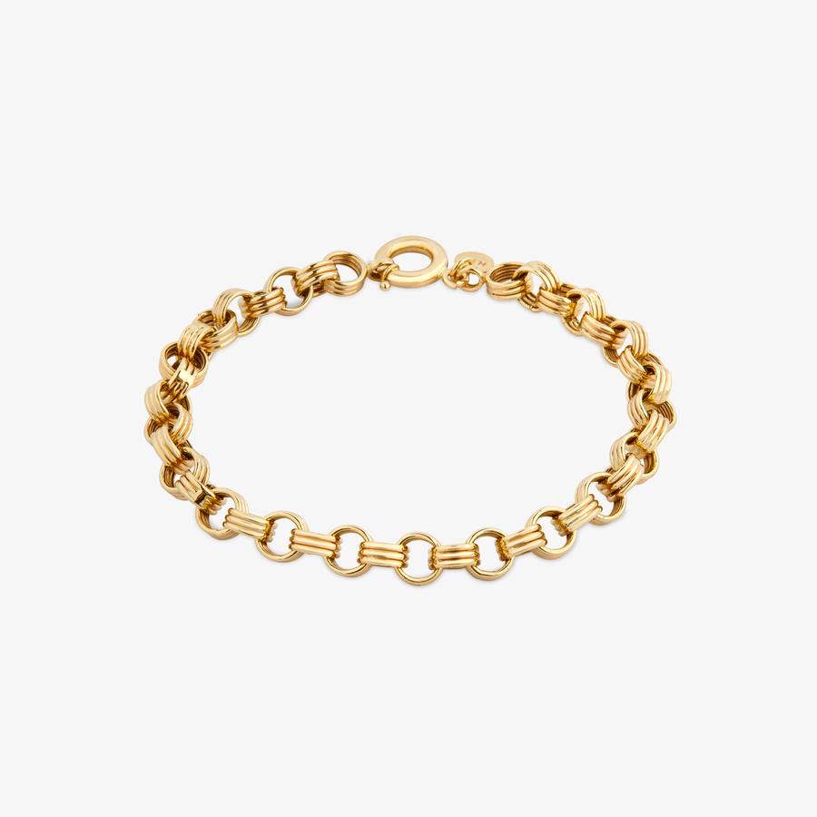 - Sarı Altın Zincir Bileklik (1)