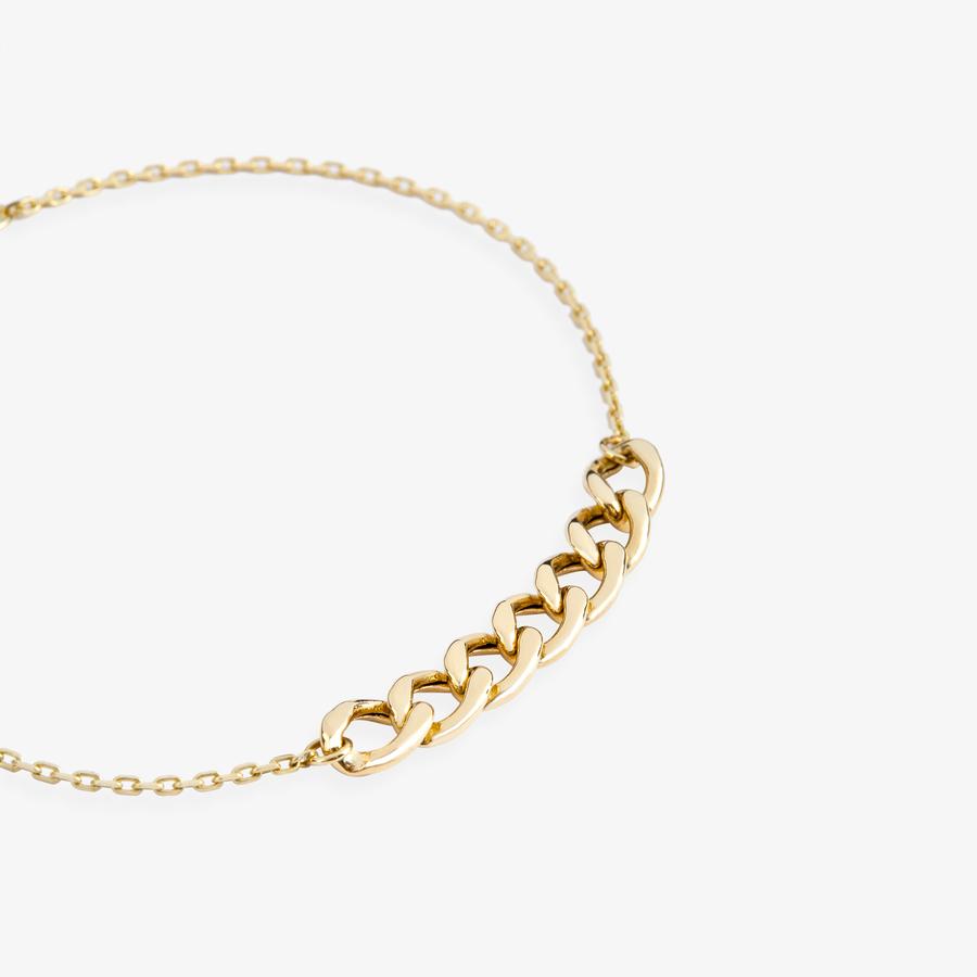 - Sarı Altın Zincir Bileklik