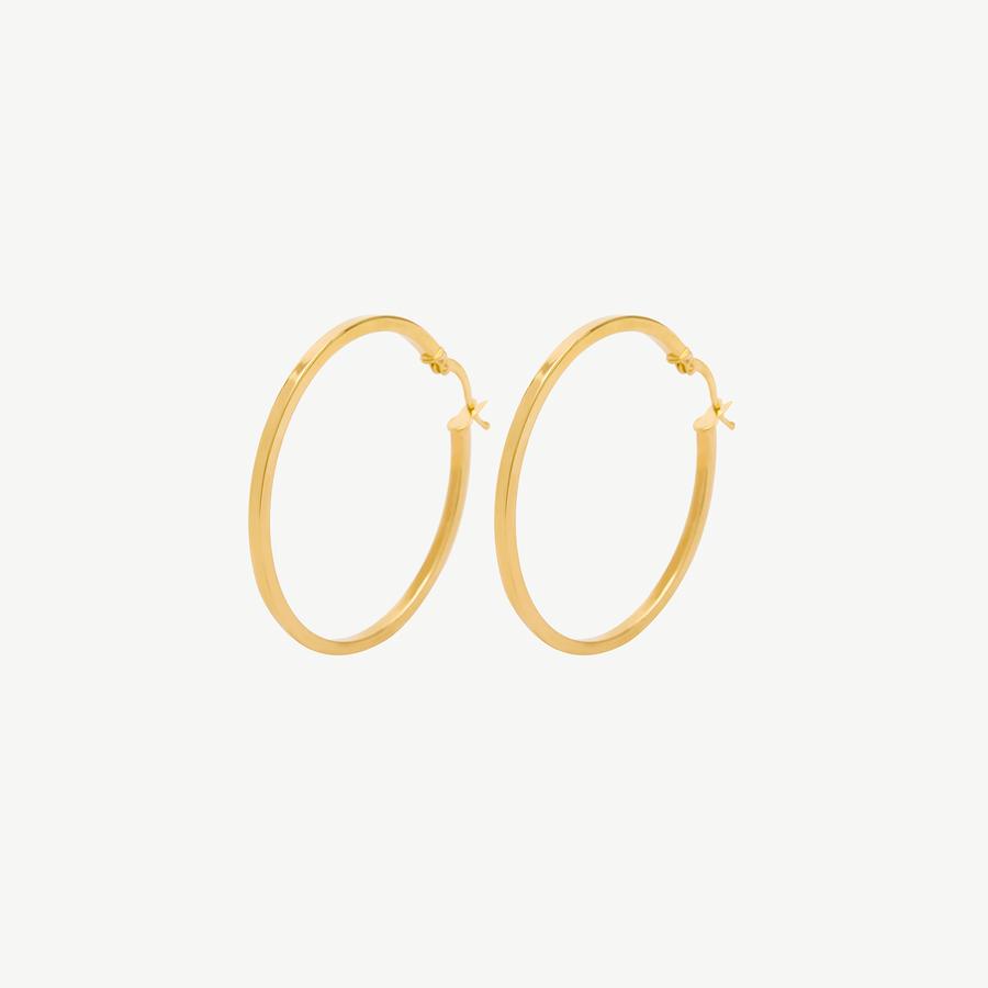 - Sarı Altın Küpe